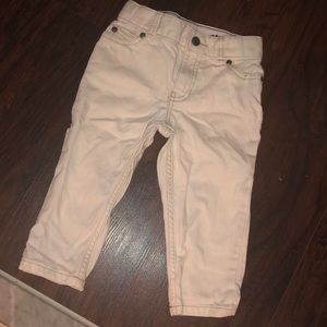 Carter's white pant